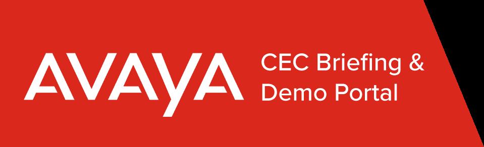 Avaya CEC Briefing Demo Portal